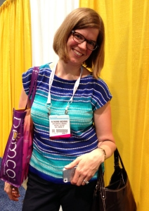 User Services Librarian Katie Nazarian at the annual American Library Association Conference